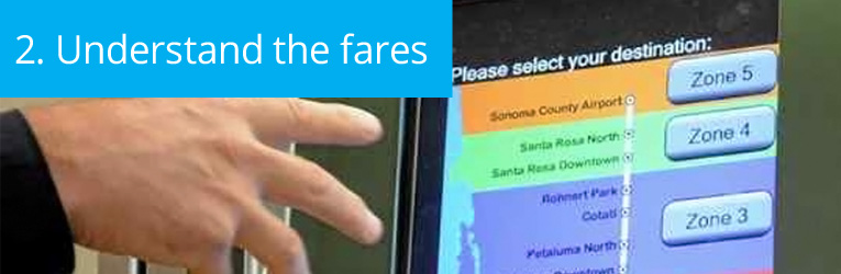 2. Understand the fares